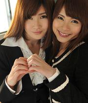 Maki Shibasaki and Madoka Imai