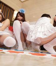 Natsumi Kojima, Kasumi Iwasaki, Mari Saotome & Natsuki Hasegawa