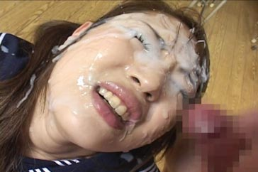 Japanese Teen Facial