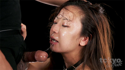 gaijin interracial deep throat
