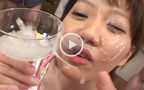 cum champagne gokkun