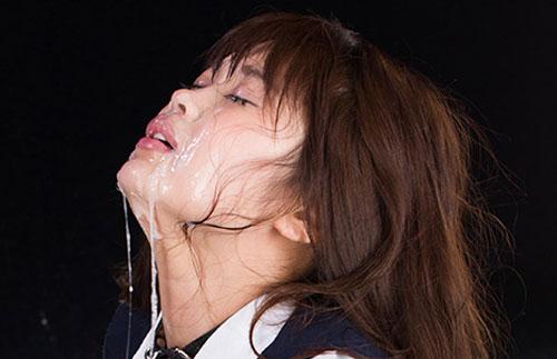 Ayaka Yamashita Japanese Interracial Face Fuck